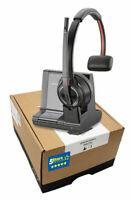Plantronics Savi 8210-M W8210-M Wireless Headset (207322-01) Brand New 2 Yr Warr