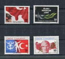 TURCHIA-TURKEY 1984 Serie Giornata delle Forse Armate 2445-48 MNH