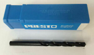 """Presto single Imperial drill bits HSS various sizes up to 1/2"""" from Myford Ltd"""