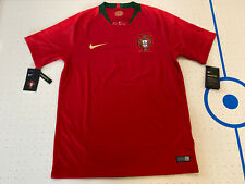Nike 2018 Portugal World Cup Home Soccer Jersey Red 893877-687 Men's Size Medium