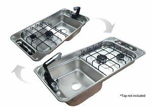 CAN SRL FL1401 Campervan Sink & Cooker / Hob Combi Unit LH / RH