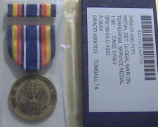 U.S. Global War on Terrorism Service Medal Set in GI Issue BOX