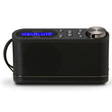 Roberts Play 10 DAB/DAB+/FM Portable Digital Radio - Black (419255)