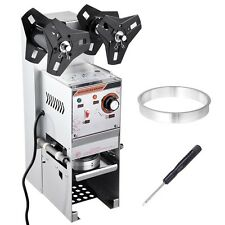 Electric Semi-automatic Bubble Tea Cup Sealer Sealing Machine 400-600 Cups/Hr