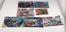Lot of 14 Lego Instruction Manual