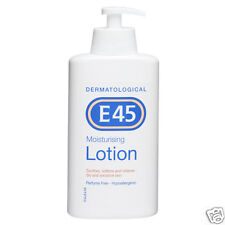 E45 Moisturising Lotion Soothes Softens Relieves Dry Sensitive Skin 500ml UK