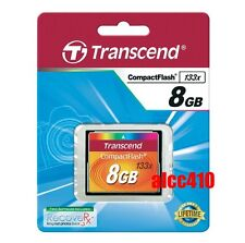 Transcend 8GB CF 133x Compact Flash  Memory Card 8 GB G TS8GCF133 in Sydney