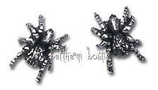 Goth : Alchemy Boucle d' Oreille Clous Araignée Veuve Noire Black Widow Gothique