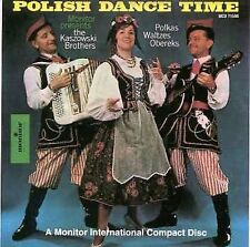 FREE US SHIP. on ANY 3+ CDs! NEW CD Brothers, Kaszowski: Polish Dance Time