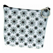 Universal Purse Bag Spinning Black Wheels White Lenticular #R-008W-PAVIA#
