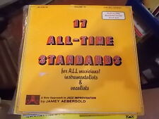 17 ALL TIME STANDARDS JAMEY AEBERSOLD VOLUME 25 FOR ALL LEVELS LP
