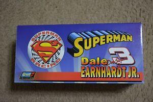 1999 DALE EARNHARDT JR # 3 AC DELCO SUPERMAN MONTE CARLO 1:18 SCALE-1 OF 4,800
