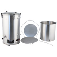 DigiBoil Electric Kettle with Mash Upgrade Kit - 65L/17gal (220V) All Grain Beer