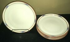 "(4) Noritake RAINDANCE 10 1/4"" Dinner Plates"