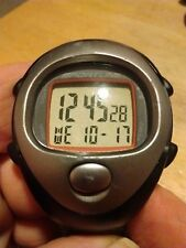 Vintage Sportline Heartrate chronograph watch, running w/new battery installed A