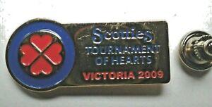 Curling Pin - Scotties Tournament of Hearts Victoria 2009