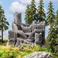 Ruine de château fort pour décor échelle N 1/160 -NOCH 58609