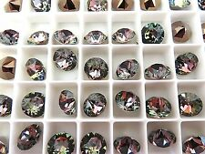 12 Crystal Twilight Swarovski Crystal Chaton Stone 1088 39ss 8mm