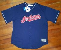 Cleveland Indians MLB Majestic Authentic Cool Base Jersey New With Tags Medium