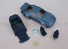 BV Voiture PORSCHE 911 1/43 Heco miniatures Chateau gris  metal interieur