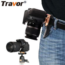 TRAVOR DSLR Camera Fast Loading Quick Setup Waist Belt Buckle Button Mount Clip