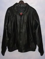 Vintage Lambskin leather Coat By William Barry