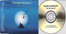 DAVID GILMOUR On An Island 2006 Promotional CD Single Album Version Radio Edit