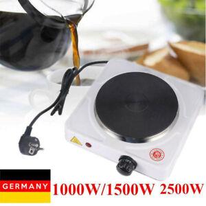 1000/1500/2500W Einzelkochplatte E-Herd Kochplatte Kochfeld Elektrokocher Kocher