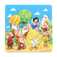 1 PCS Wooden Snow White Jigsaw Puzzles Toys for Boys & Girls Ages 3+ (SN-2-W)