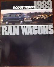 Dodge Truck Ram 1989 Sales Broucher