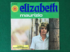 Disco Vinile 45 Giri 7'' (SOLO BUSTA) MAURIZIO - ELIZABETH / SIRENA Krisma