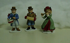 Set of 3 Homco 5104 Musical Christmas Figurines Home Interior Figures Auct#3015B