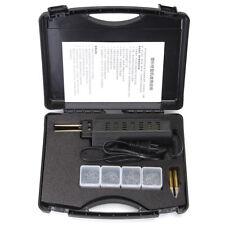 Hot Stapler Car Bumper Fender Fairing Welder Gun Plastic Repair Kit + 200 Staple