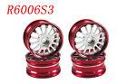 1/10 RC Car CNC Aluminium Wheel Rim Set 4pcs (R6006s3)