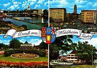 Gruß aus Mülheim / Ruhr , Ansichtskarte ,1969 gelaufen