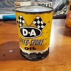 Full++DA+Speed+Sport+race++Motor+Oil+1+Quart++Can+qt.+metal