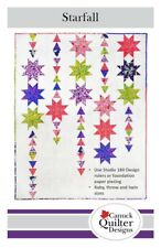 Starfall Quilt Pattern in Baby, Throw, and Twin Sizes Canuck Quilt Designs