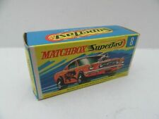 """Matchbox Superfast 8b """"WILD CAT"""" Ford Mustang - Original Box and Car AMustC(6A)"""