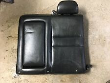 2004 - 2008 ACURA TSX REAR DRIVER LEFT UPPER SEAT BLACK LEATHER 2005 2006 2007