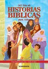 365 Días de historias bíblicas para niños // 365 Day Children's Bible (Spanish E