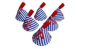 Pee Pee Teepee x6 / Wee Stop Cones Teepees / Boy Baby Shower / Anchors Nautical