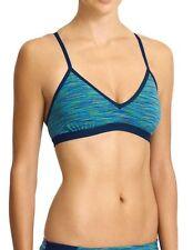 NWT Athleta Paddleout Space Dye Bikini, Dress Blue Space Dye, LARGE (L) Swim $54