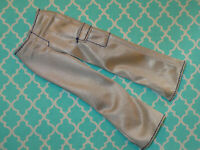 Mattel Barbie Doll KEN CLOTHING Vintage SHINY SILVER GRAY CARGO PANTS