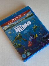 Finding Nemo 3D (and 2D) Brand New Blu-Ray Region-Free Uk Import Disney Pixar
