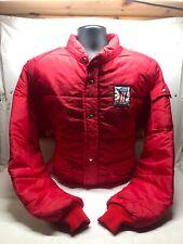 70's Weatherite VTG Red Nylon Riding Jacket Lrg  Robison HD  AMF 98108-68V