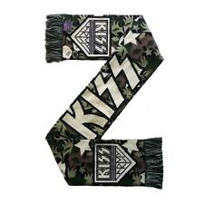 More details for official licensed - kiss - kiss army scarf rock simmons