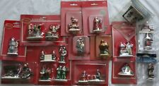 Christmas Village People Lot of 14 Packages - Band, Santa Photo Booth, Choir +