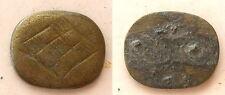 fragment Ring Stamp Judaea Rome Byzantium ancient bronze artifact #AR756-759