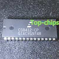 1PCS CIRRUS LOGIC CS8412-CP CS8412CP DIP-28 AUDIO INTERFACE RECEIVER IC