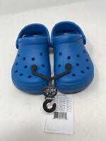 Crocs Kid/Children Size 11 (C11) Blue Crocs Coast Clog K Slip On New W/ Tags